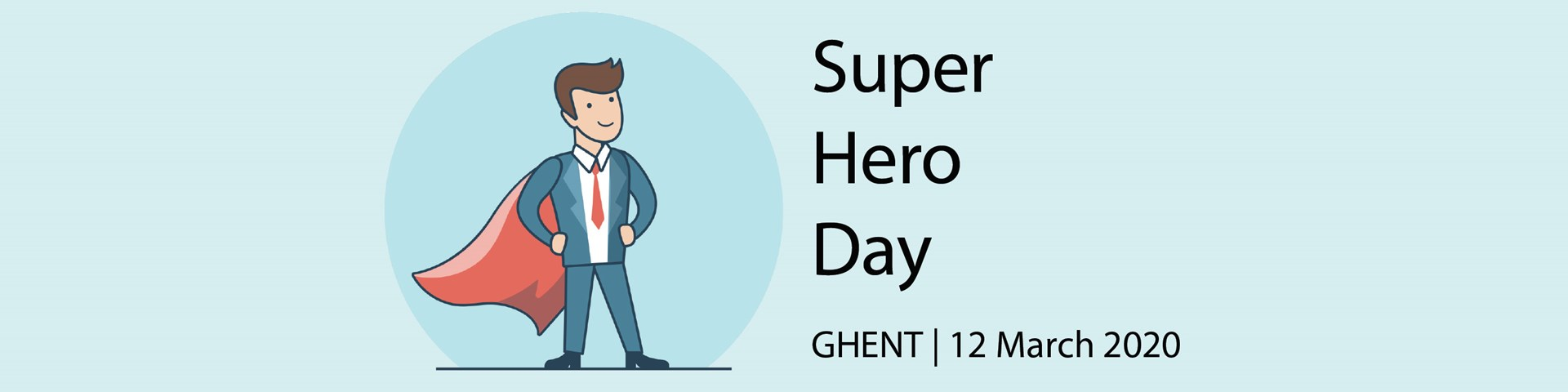 Intrum Belgium Super Hero Day 2020